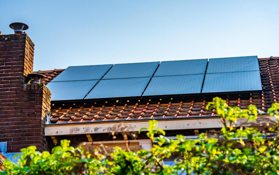 Una casa green usa solo energia green